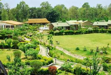 Kids Playing Area at Mapple Leisure Resort in Corbett National Park