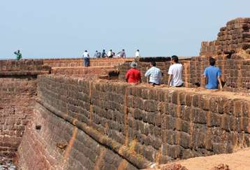 Fort Aguada at candolim goa