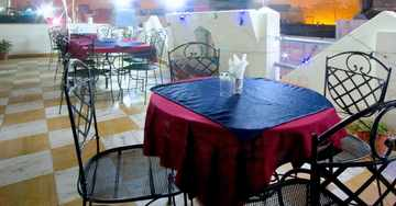 Rooftop Restaurant at Sunstar Grand Hotel Karol Bagh