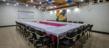 Conference facility in Sunbean conference hall at Hotel Suncourt Yatri in New Delhi