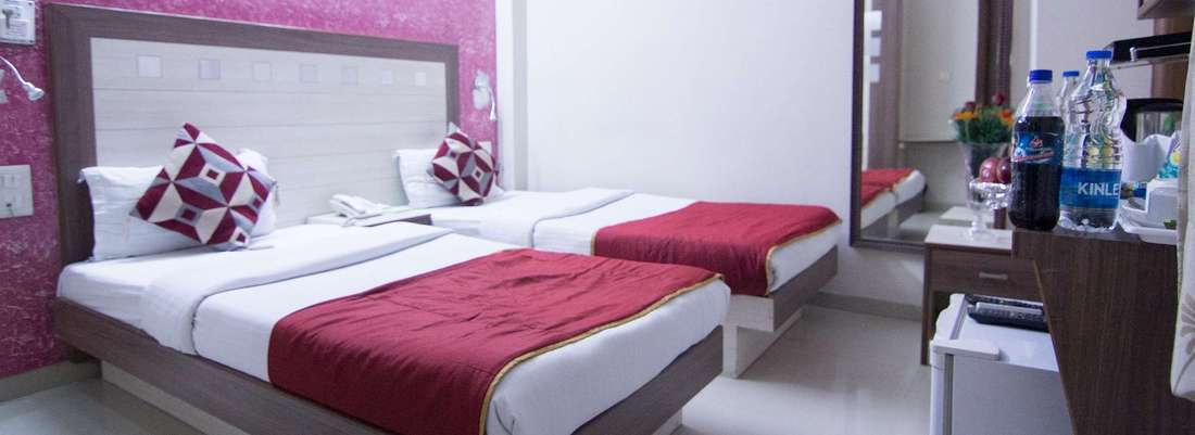 Executive Rooms at Rockwell Plaza Hotel in Karol Bagh