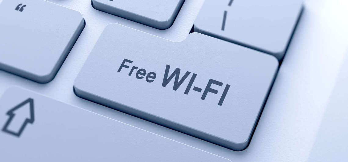 Free Wi Fi Service at S'mor Spa Village Resort in Hua Hin