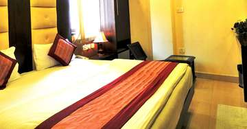 Rooms at Aman International Paharganj