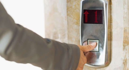 Guest Lift to all floors at Aster Inn Hotel in Karol Bagh