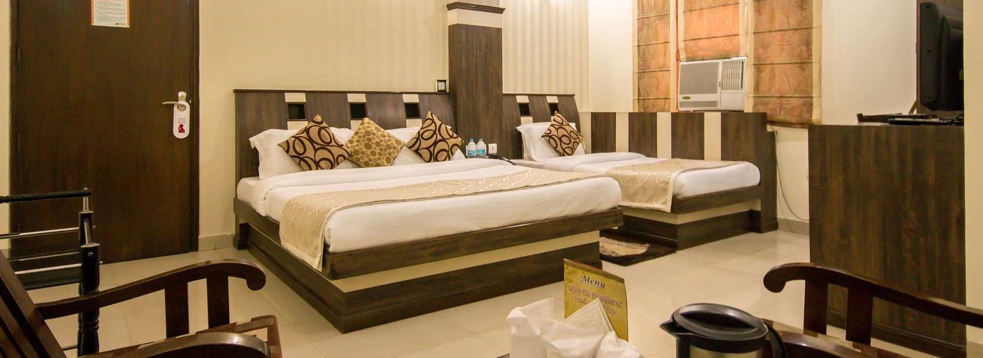 Deluxe Rooms at Grand Park Inn Hotel In Karol Bagh