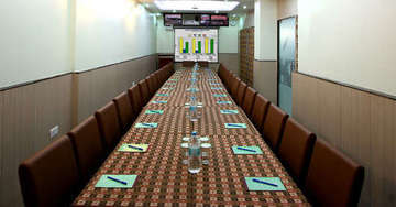 Conference facility at Aster Inn Hotel in Karol Bagh