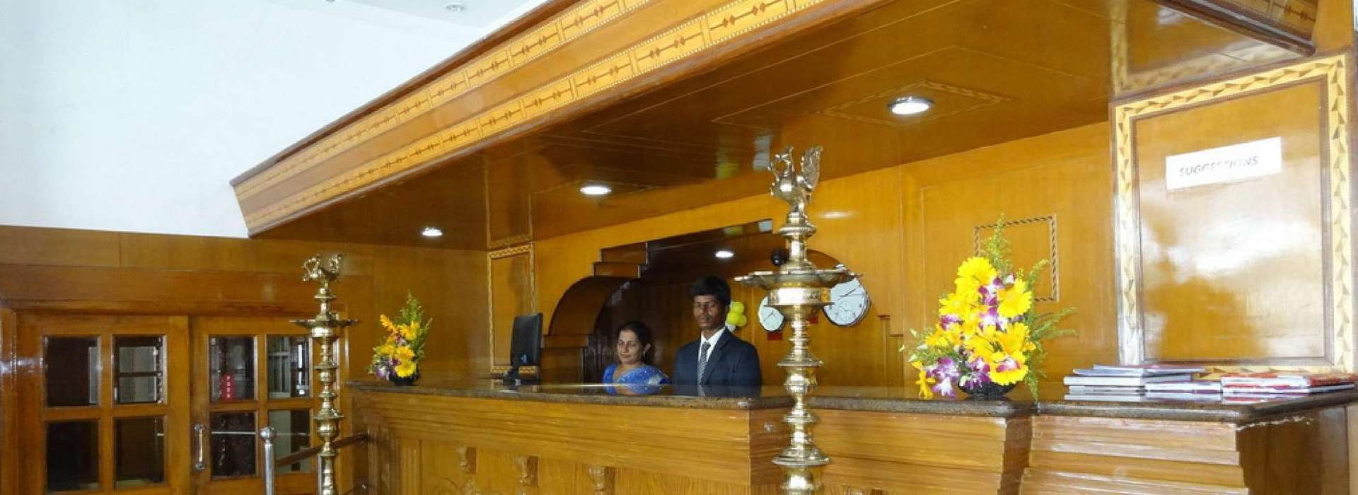 24 Hour Front Desk For Your Assistance @ Mount Heera Chennai