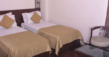 Rooms at Hotel Crystal Inn Agra