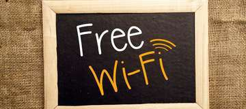 Free Wi-Fi at Hotel Crystal Inn Agra