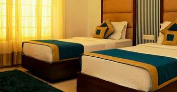 Twin Bed Accommodation At The Pearl Hotel